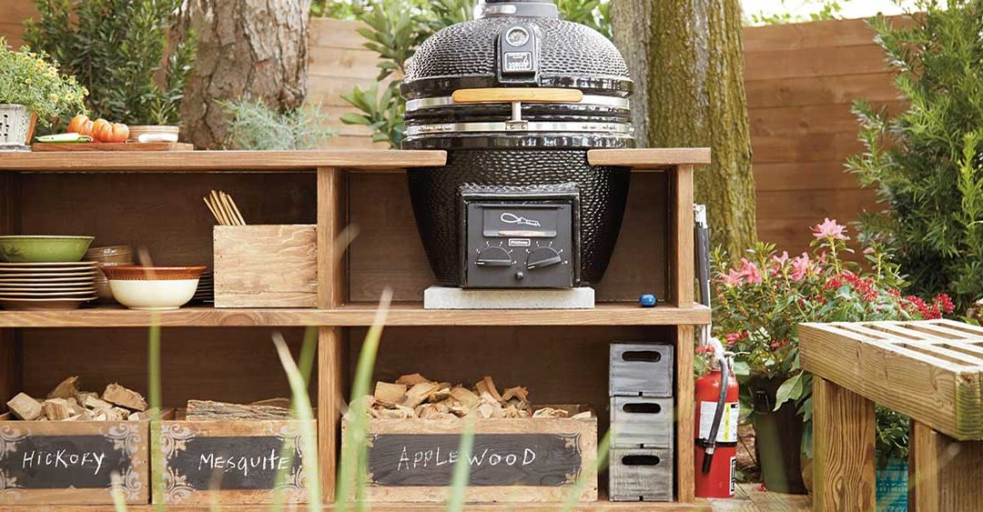 Your Own DIY Outdoor Grill Station