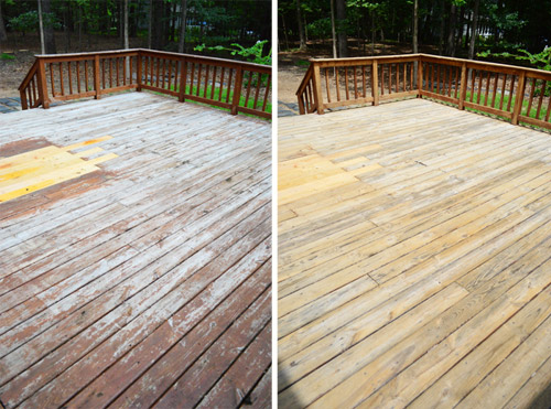 conditioning your deck