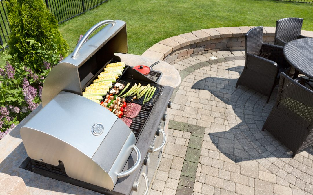 Brick Grills and Outdoor Countertops: Building Your Perfect Outdoor Kitchen