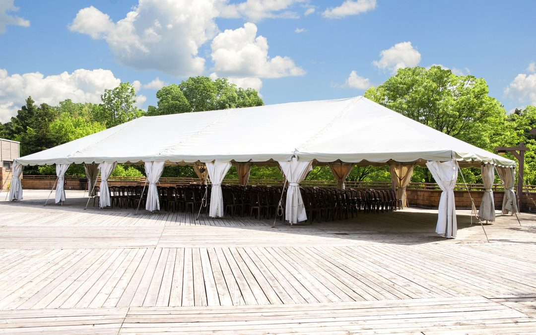 Ideas For Your Under the Weather Tent Wedding