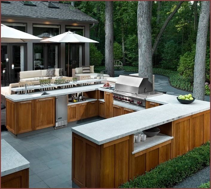Brick Grills And Outdoor Countertops: Building Your
