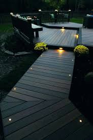 lighting on the deck