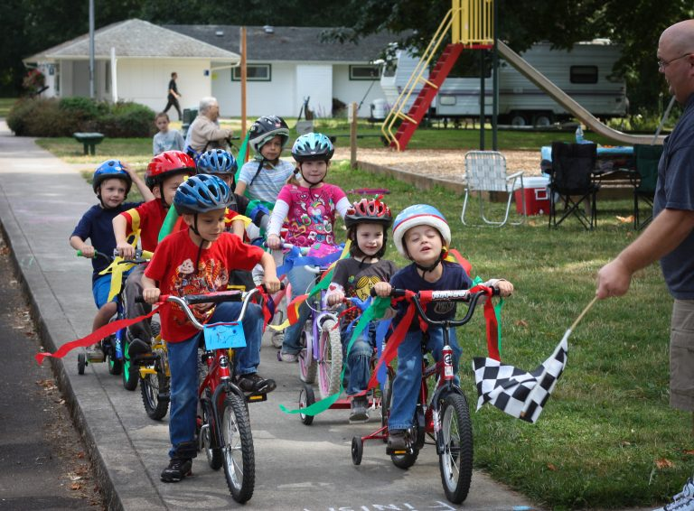 bike race party for kids