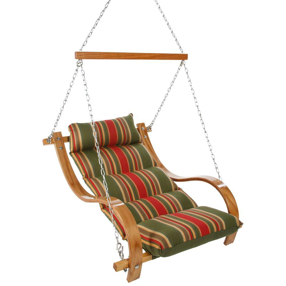 Trellis Garden Single Cushion Patio Swing